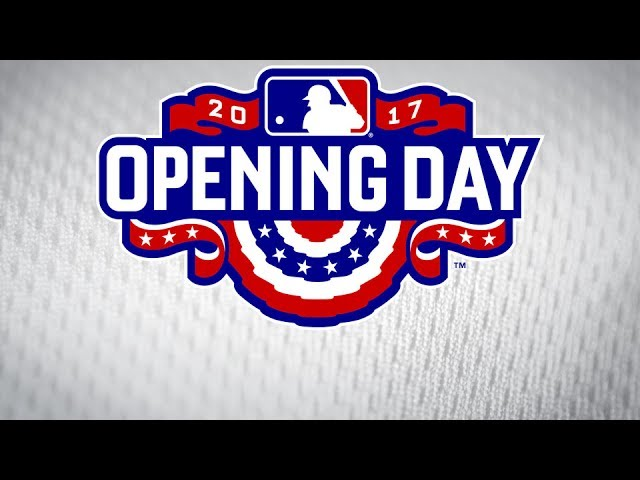 La Dodgers 2017 Opening Day Video Playing