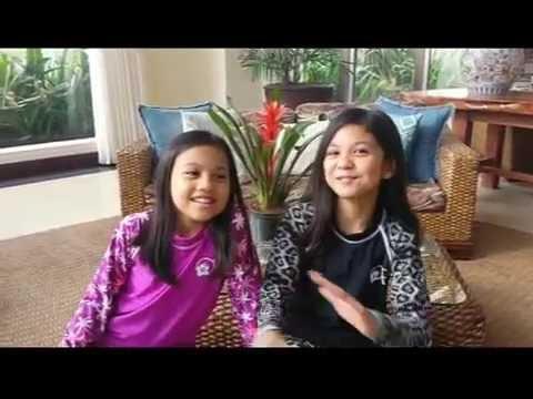 Eliz and Erin at the Hotel Kimberly Tagaytay