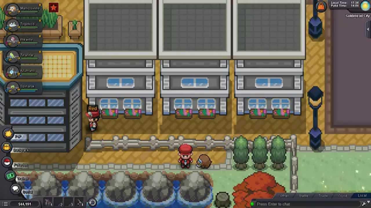 Pokemon Revolution Online Golden Rod Abandoned Pok 233