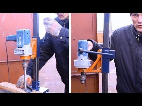 видео: Самодельная стойка для дрели своими руками.Часть3.homemade drill press