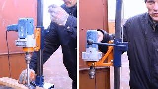 Самодельная стойка для дрели своими руками.Часть3.homemade Drill Press