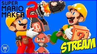 STREAM - SUPER MARIO MAKER 2 / MODO HISTORIA :D (THE BRI)