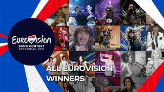 All the winners of the Eurovision Song Contest (2019 - 1956)