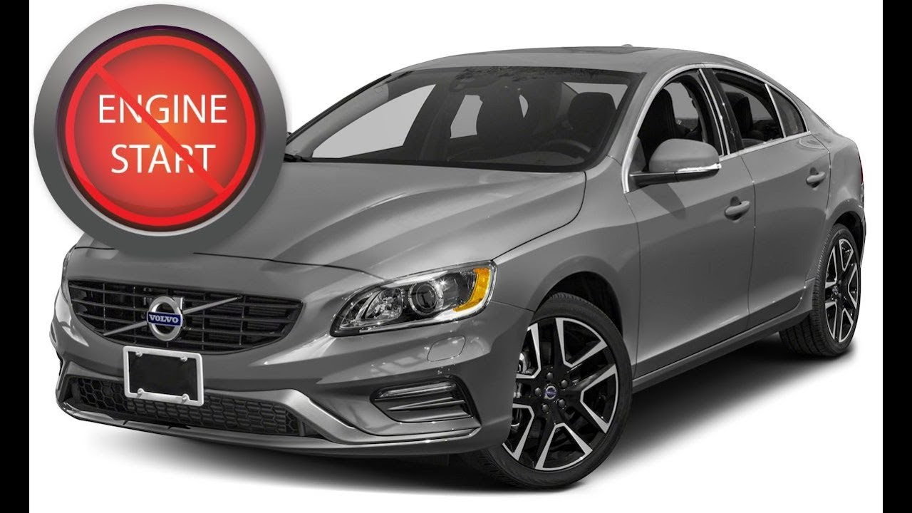 Volvo with a dead key fob: Get in and start older push button start models. (updated)