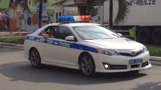 Csgt phóng xe cực nhanh hộ tống thủ tướng