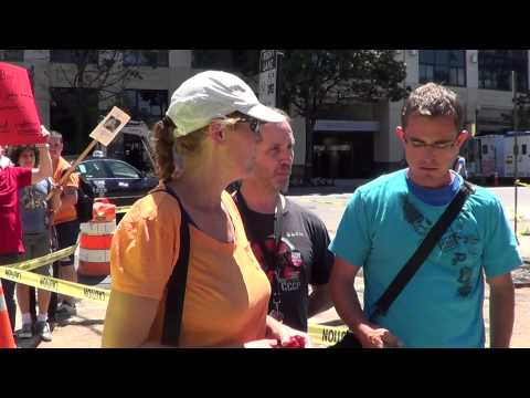 OccupyDC and LGBT confront Westboro Baptist Church