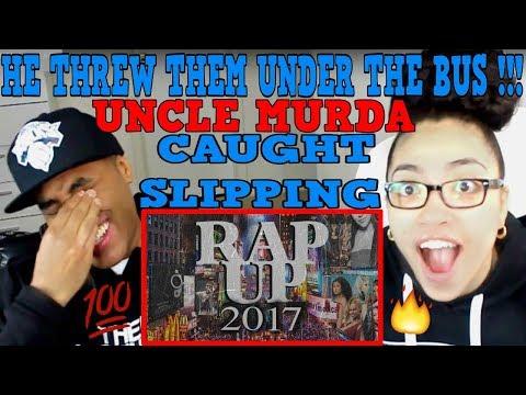 Uncle Murda – Rap Up 2017 REACTION