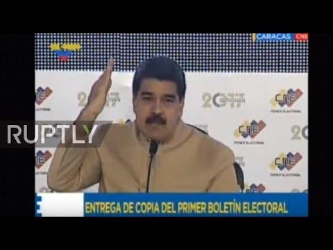 Venezuela: 'I do not obey imperial orders '- President Maduro of Venezuela slams fresh US sanctions