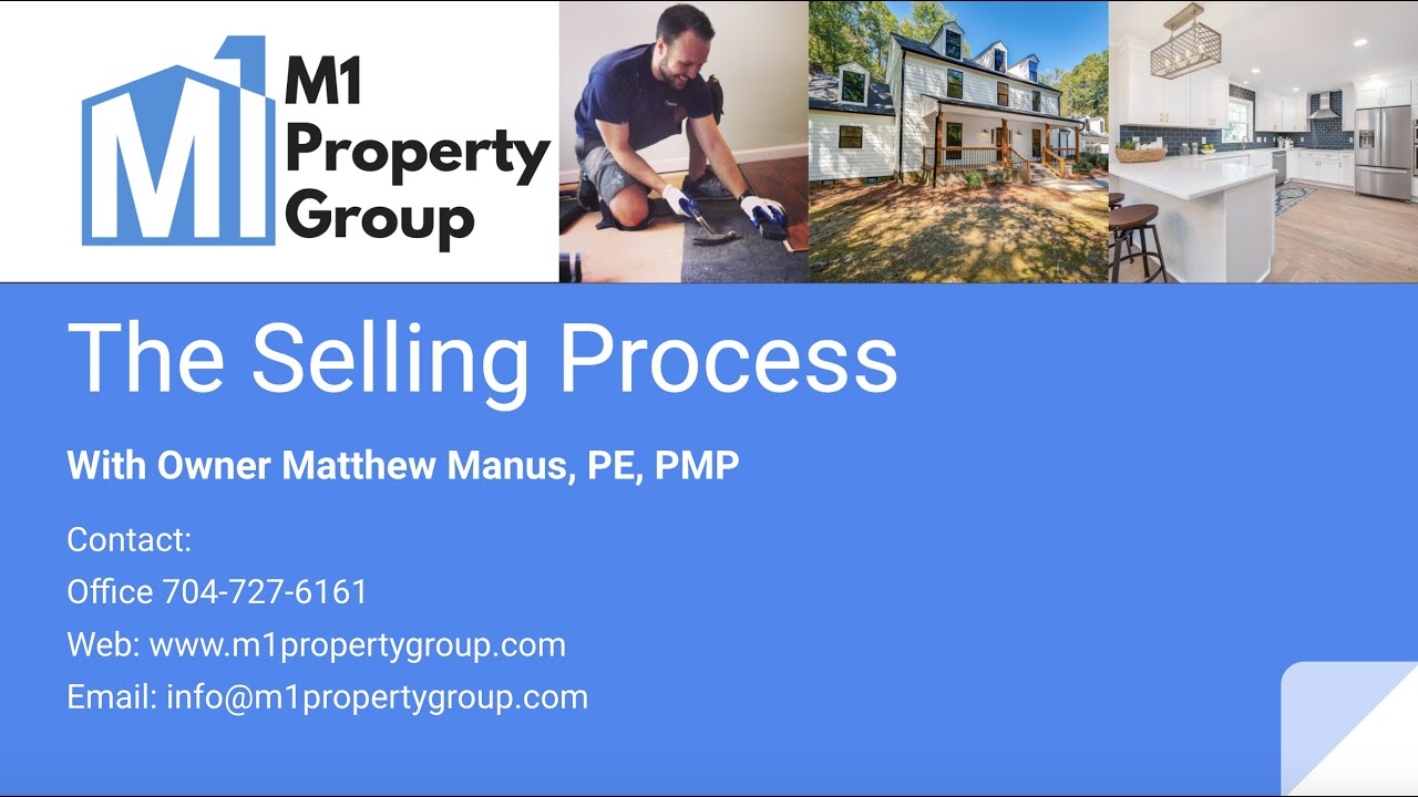 M1 Property Group - The Selling Process