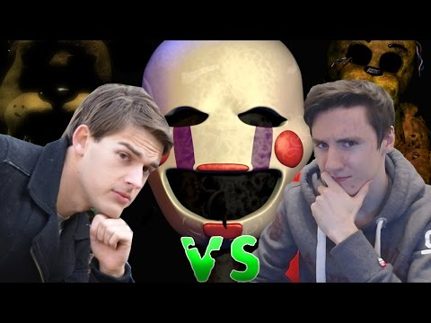 Golden Freddy or The Puppet, Who Wins? | Game Theory FNaF 4 Reaction!