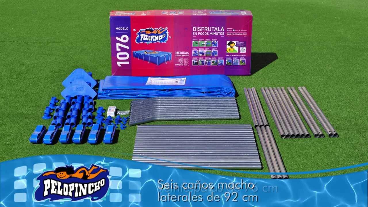 Armado pelopincho 1076 youtube for Piletas intex precios y modelos