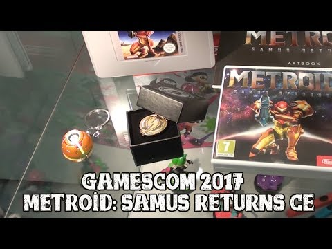 [Metroid: Samus Returns] Close look at the Collector's Edition