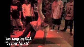 Bgirl Tanya-Clips from adroad 2011