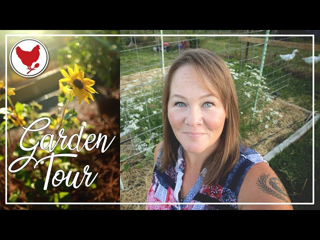 GARDEN TOUR - Week 1   A Good Life Farm