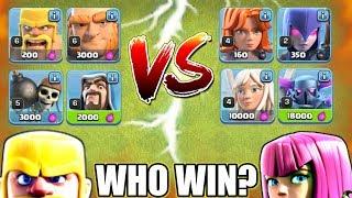 BOYS TROOPS VS GIRLS TROOPS | WHO WILL WIN? | BOYS OR GIRLS |