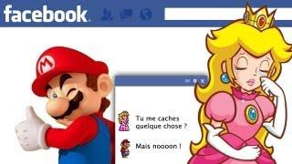 Mario se fait griller par sa meuf sur Facebook
