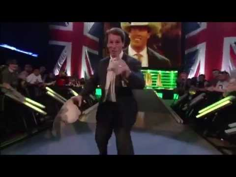 SmackDown JBL & Cole Entrance (Before going live) 23/04/14