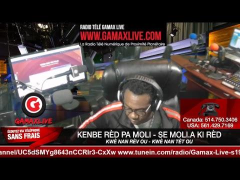 (Gamax Live) • 17 NOVEMBRE  2018 • JOUNAL KREYÒL 4è • RADIO KISKEYA  HAITI • LIVE •