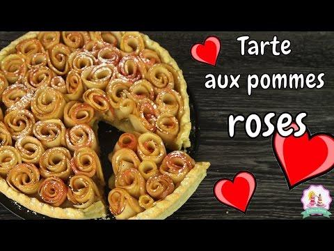 ♡•-recette-saint-valentin-tarte-aux-pommes-roses-|-facile-et-rapide-•♡