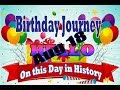 Birthday Journey August 18 New