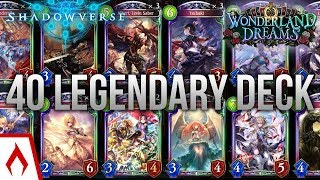[Shadowverse] Wonderland Dreams 40 Legendary Deck