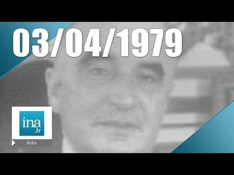 24h sur la Une du 3 avril 1974, mort de Georges Pompidou   Archive INA