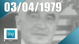 24h sur la Une du 3 avril 1974, mort de Georges Pompidou - Archive INA