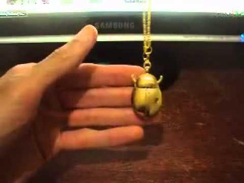 Đồng hồ quả quýt dây chuyền đeo cổ - Pocket Watch necklace (3).FLV