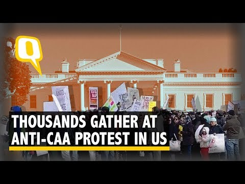 anti-caa-nrc-protesters-in-washington-dc-say-indian-embassy-tried-to-thwart-rally-|-the-quint
