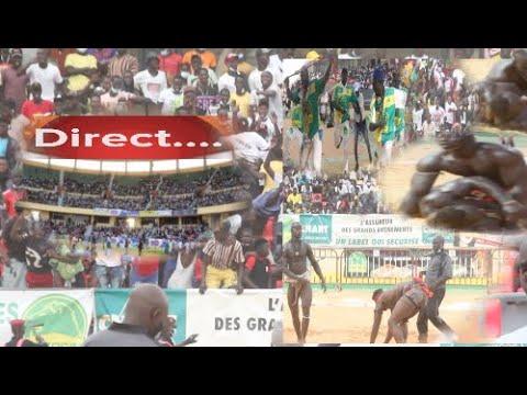 En Direct Aréne Nationale Journée Mouniang Pro