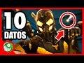 10 curiosidades sobre ANT-MAN: EL HOMBRE HORMIGA