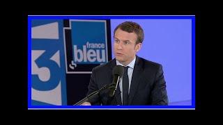 Emmanuel Macron en visite privée à Sète