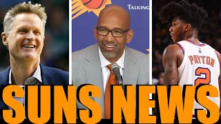 Elfrid Payton Recruited By CP3? Steve Kerr Helped Monty Williams Career -Phoenix Suns News #Suns