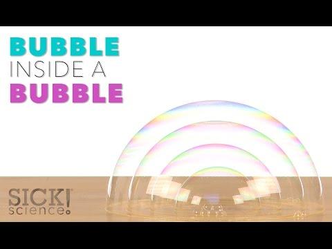 Bubble Inside a Bubble - Sick Science! #219