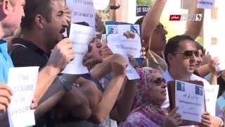 2015-10-07 Sit-in des souscripteurs LPP devant l