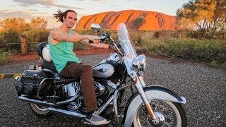 BIKING TO ULURU