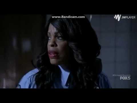 Scream Queens S1E5- Gigi/Denise Vs. Red Devil Scene