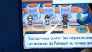 Échanges en wifi pokemon noir et blanc 2