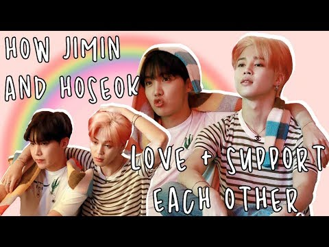 how jimin and hoseok love and support each other *jihope*
