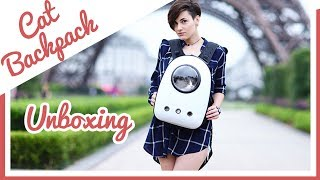 Bubble Cat Backpack Unboxing