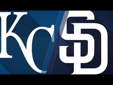 6/9/17: Padres top Royals behind Maurer's save