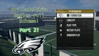FULL OFFENSIVE SCHEME PART 2 | Madden NFL 18 | 100 Subscriber Special!