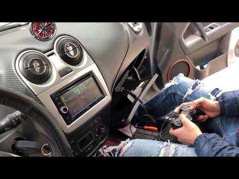 Montaggio PlayStation su autoradio 2DIN o 1DIN con schermo