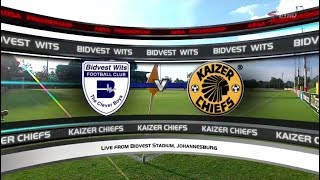 Absa Premiership 2017/2018 - Bidvest Wits vs Kaizer Chiefs