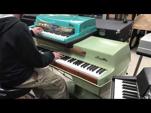 Vintage Vibe Piano  Lady Day And John Coltrane