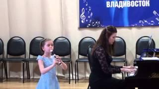Важенина Софья блокфлейта. И.С. Бах Адажио А.А. Алябьев Танец из балета Волшебный барабан