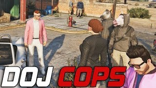 Dept. of Justice Cops #472 - The Master Mind