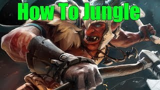 DoTa 2 How To Jungle Troll Warlord Patch 7.22h