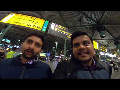 Bus and Train Travel in Netherlands | Schiphol Airport, Amsterdam to Delft