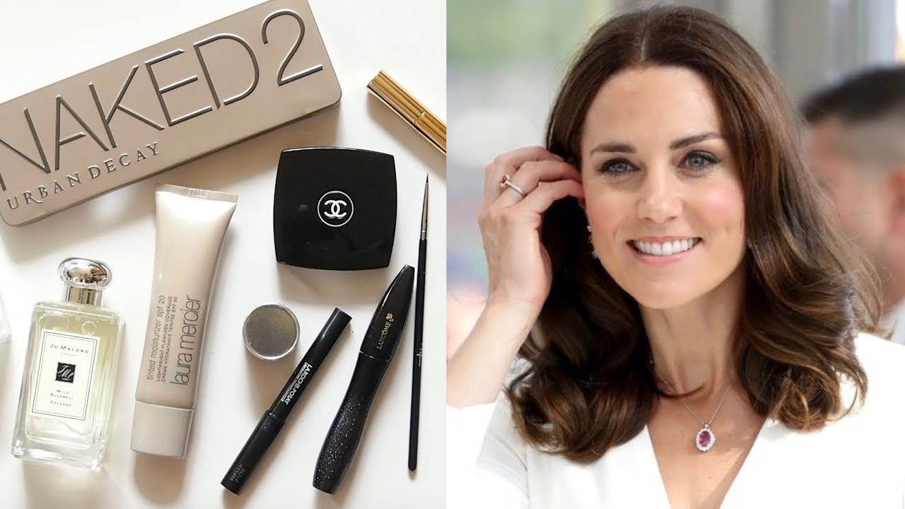 Kate Middleton Makeup Bag  Rosy Look and Royal Wedding Lipstick